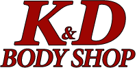 K&D Body Shop, Three Rivers, MI Logo